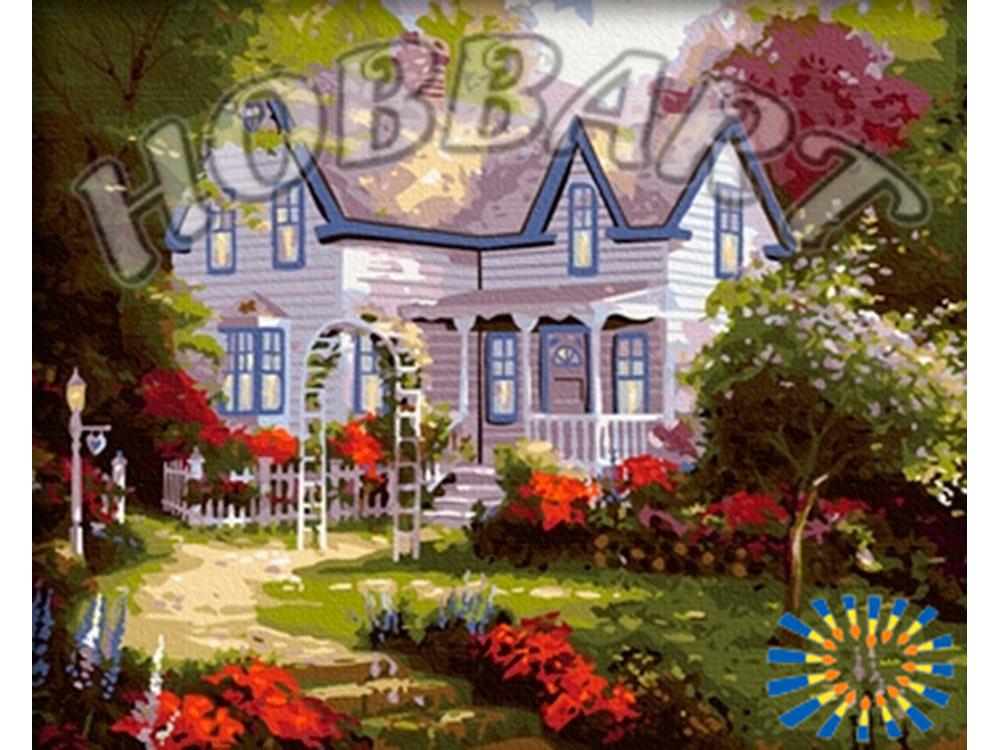 Картина по номерам «Дом — это там, где сердце» Томаса КинкейдаHobbart<br><br><br>Артикул: HB4050082<br>Основа: Холст<br>Сложность: сложные<br>Размер: 40x50 см<br>Количество цветов: 29<br>Техника рисования: Без смешивания красок