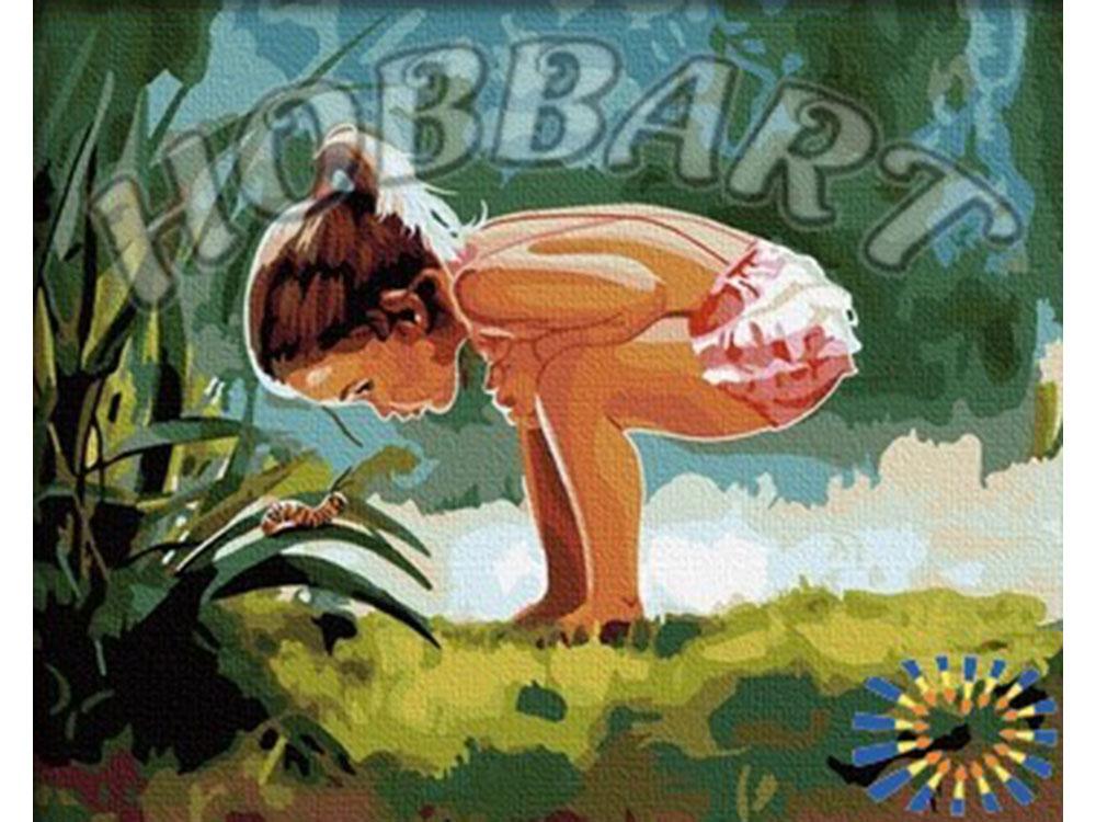 «Детское любопытство» Дональда ЗоланаHobbart<br><br><br>Артикул: HB4050094<br>Основа: Холст<br>Сложность: сложные<br>Размер: 40x50 см<br>Количество цветов: 25<br>Техника рисования: Без смешивания красок