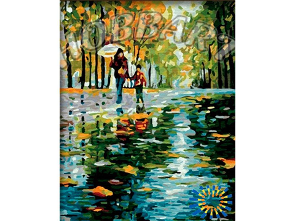 «Дождливой осенью» Леонида АфремоваHobbart<br><br><br>Артикул: HB4050119<br>Основа: Холст<br>Сложность: сложные<br>Размер: 40x50 см<br>Количество цветов: 30<br>Техника рисования: Без смешивания красок