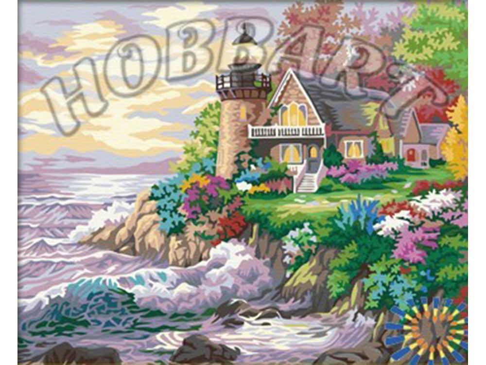 Картина по номерам «Маяк» Ники БоэмHobbart<br><br><br>Артикул: HB4050315<br>Основа: Холст<br>Сложность: сложные<br>Размер: 40x50 см<br>Количество цветов: 30<br>Техника рисования: Без смешивания красок