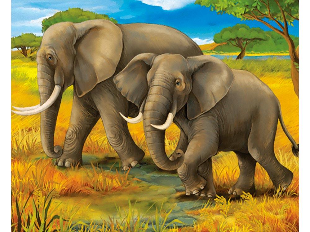 Холст «Семь слонов»Холсты по контурам<br>Холст с контурами от Цветное.ру – новинка дл художников, которые хотт попробовать раскрашивание без номеров. Качественный набросок выполнен на холсте. В комплекте имеетс репродукци оригинала, котора позволит сориентироватьс, какие именно оттенки нуж...<br><br>Артикул: 190631<br>Основа: Картон<br>Сложность: сложные<br>Размер: 30x40 см