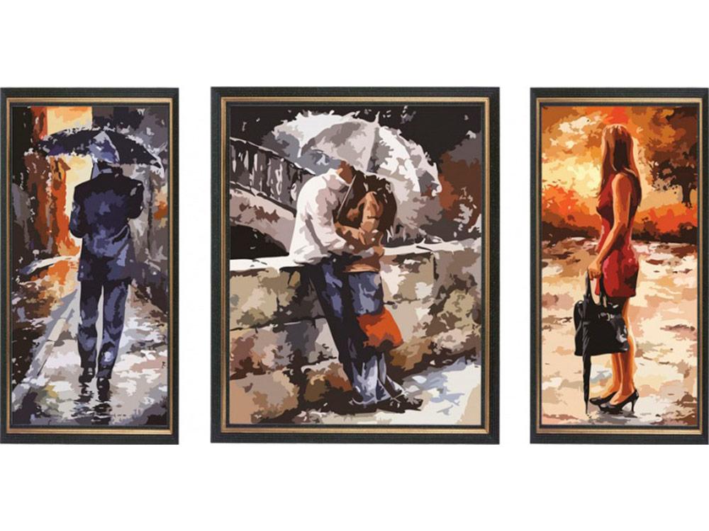 Картина по номерам «Под дождем» Эмерико ТотаРаскраски по номерам<br><br>