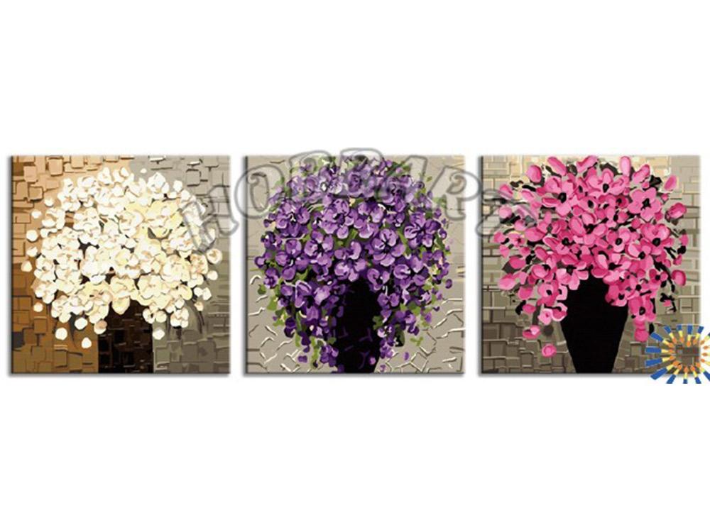 Картина по номерам «Три оттенка лета»Hobbart<br><br><br>Артикул: PH340120084<br>Основа: Холст<br>Сложность: сложные<br>Размер: 3 шт. 40x40 см<br>Количество цветов: 39<br>Техника рисования: Без смешивания красок