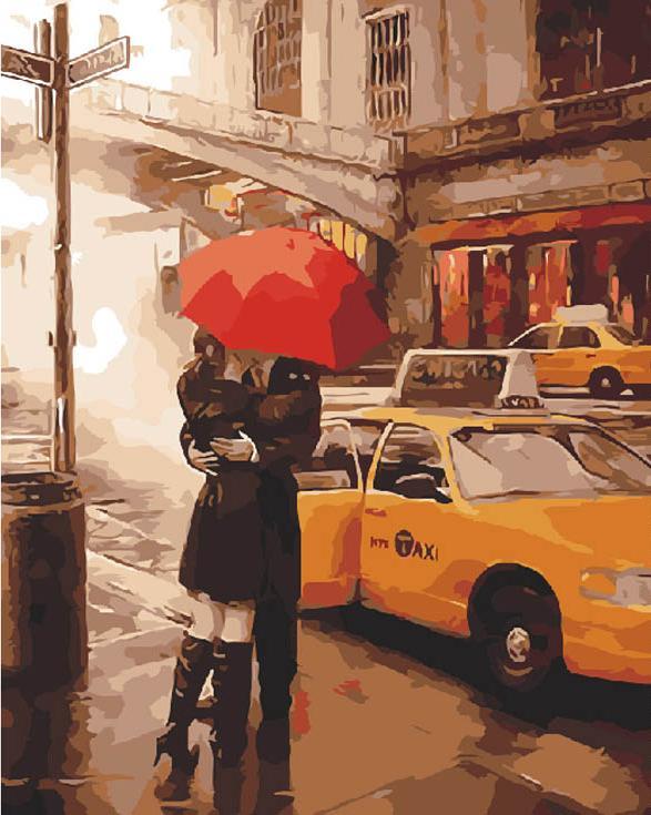 Картина по номерам «Прощальный поцелуй» Даниэля дель ОрфаноPaintboy (Premium)<br><br><br>Артикул: GX4070<br>Основа: Холст<br>Сложность: сложные<br>Размер: 40x50 см<br>Количество цветов: 28<br>Техника рисования: Без смешивания красок