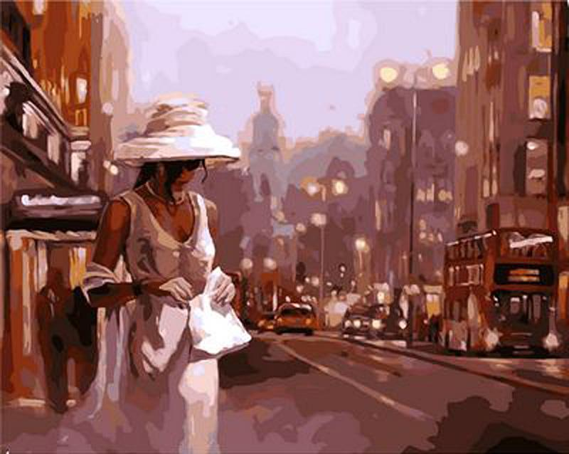 Картина по номерам «Объятая ночью» Марка СпейнаРаскраски по номерам<br><br>