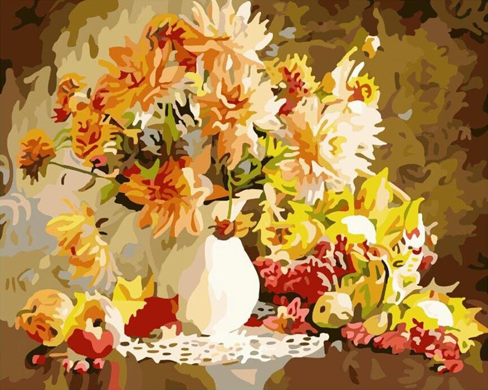 Картина по номерам «Осенний натюрморт»