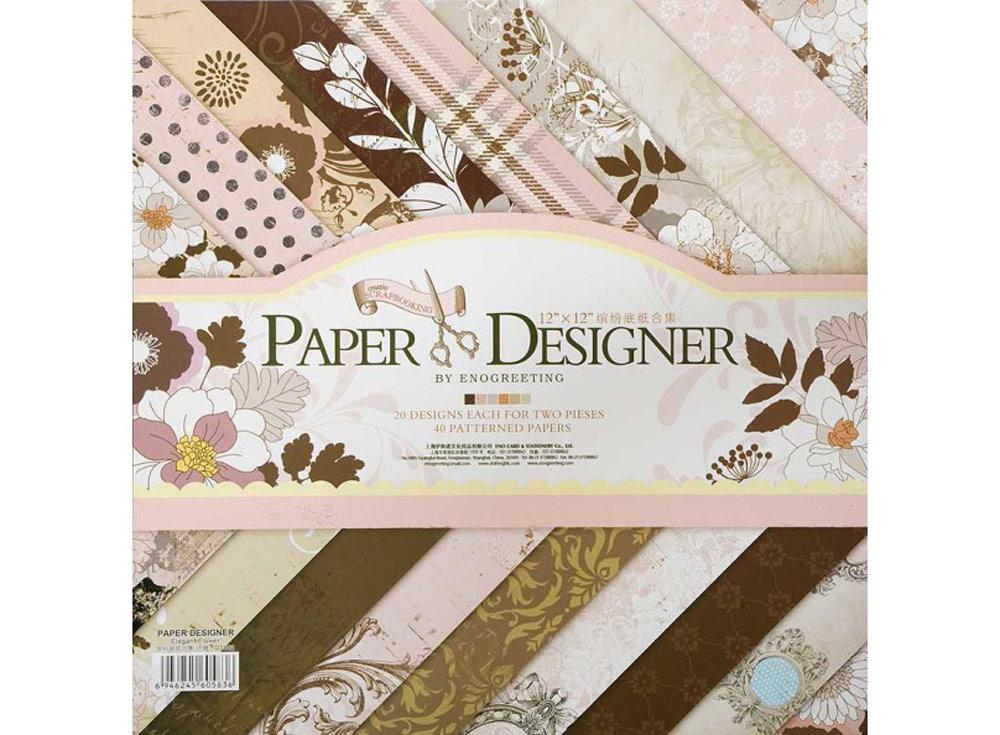 Набор бумаги «Волшебная страна»Бумага и материалы для скрапбукинга<br><br><br>Артикул: 021-SB<br>Размер: 30,5x30,5 см