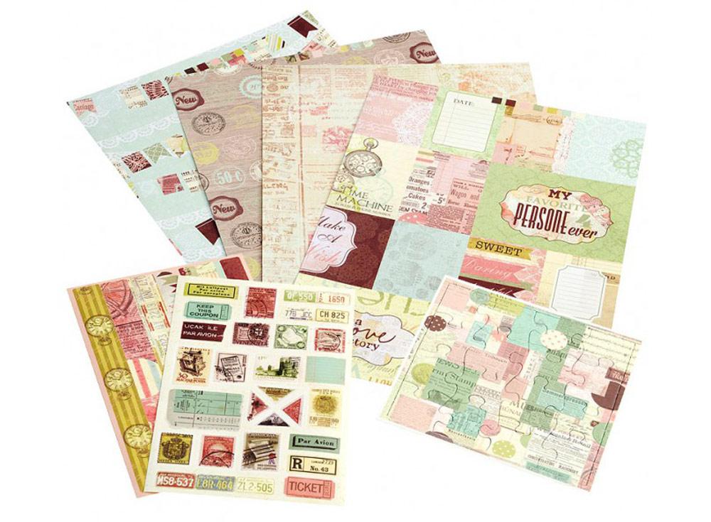 Набор для творчества «Розовое суфле»Бумага и материалы для скрапбукинга<br><br><br>Артикул: 041-SB