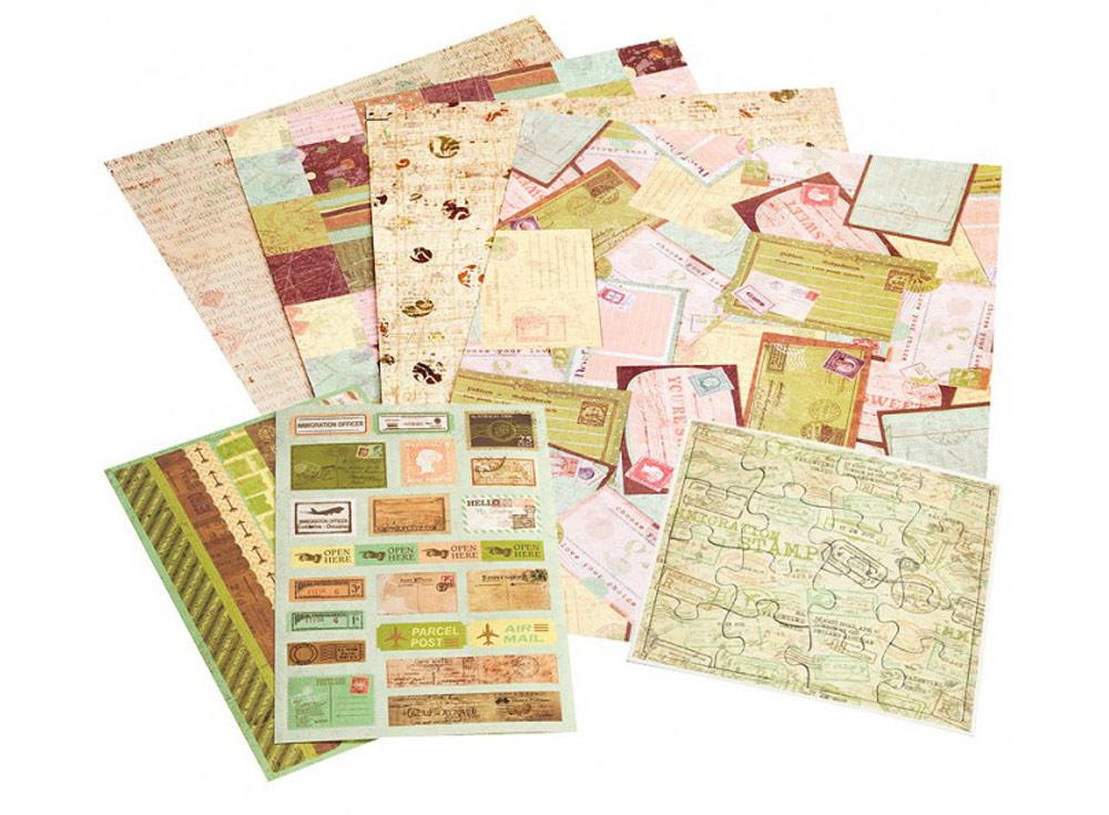 Набор для творчества «Лимончелло»Бумага и материалы для скрапбукинга<br><br><br>Артикул: 042-SB