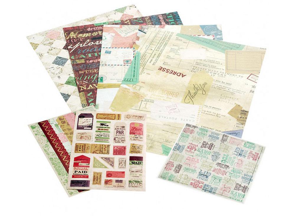 Набор для творчества «Цветной шоколад»Бумага и материалы для скрапбукинга<br><br><br>Артикул: 043-SB