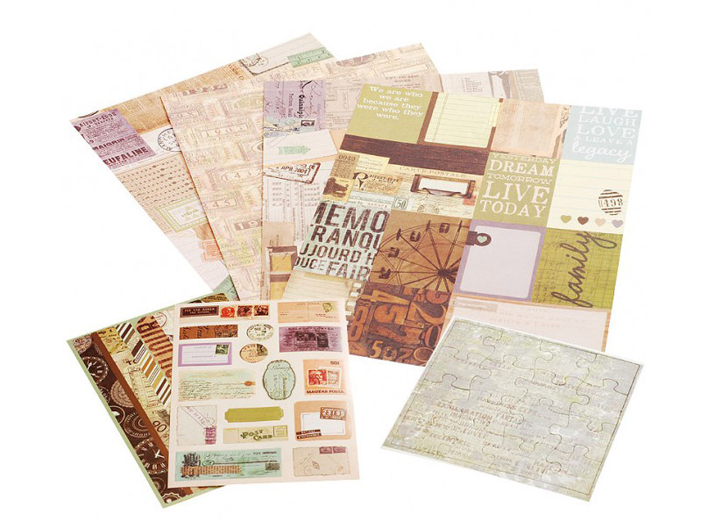 Набор для творчества «Душистая мята»Бумага и материалы для скрапбукинга<br><br><br>Артикул: 045-SB