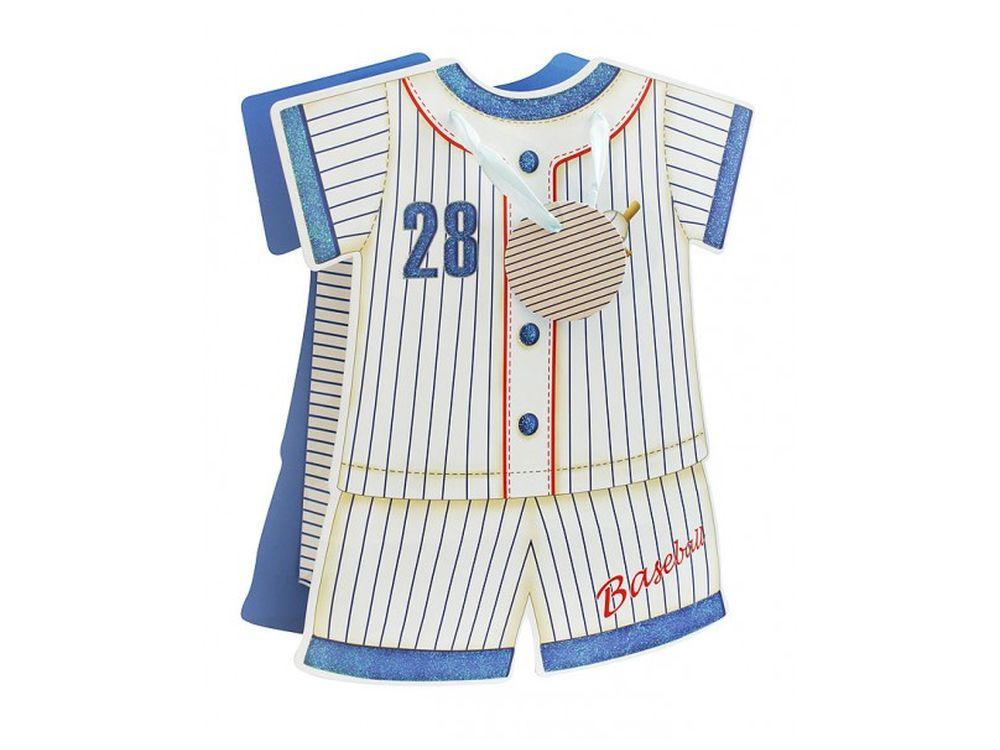 Подарочный пакет «Спортивный костюм»Подарочные пакеты<br><br><br>Артикул: 1055-SB<br>Размер: 18x24x8,5