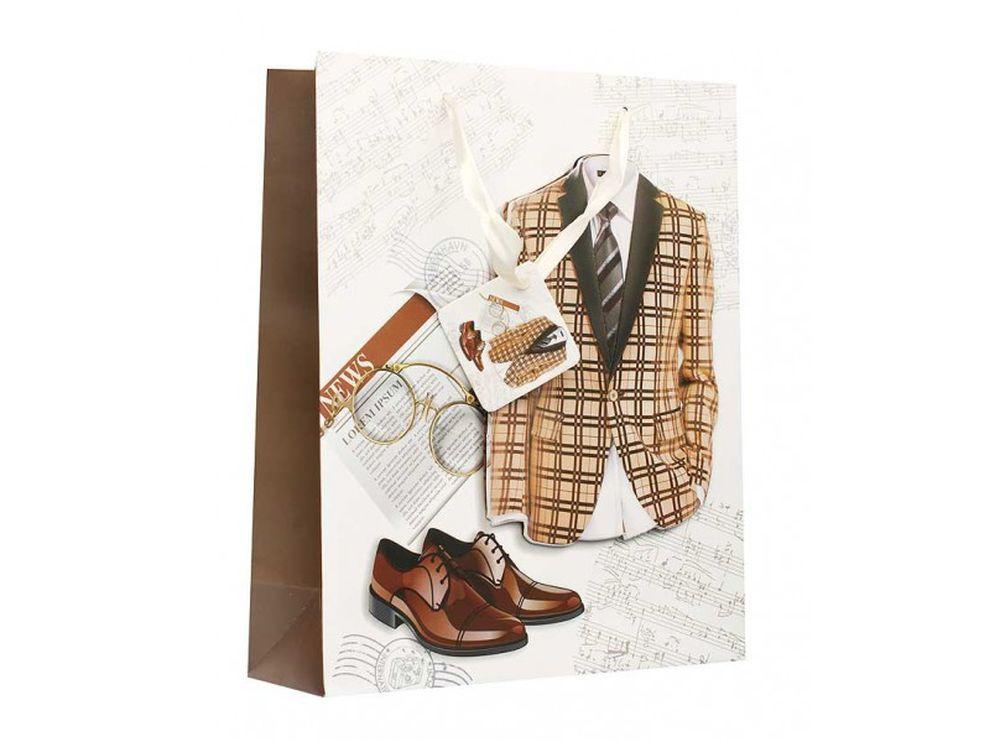 Подарочный пакет «Стилга»Подарочные пакеты<br><br><br>Артикул: 1303-SB<br>Размер: 26x32x10 см