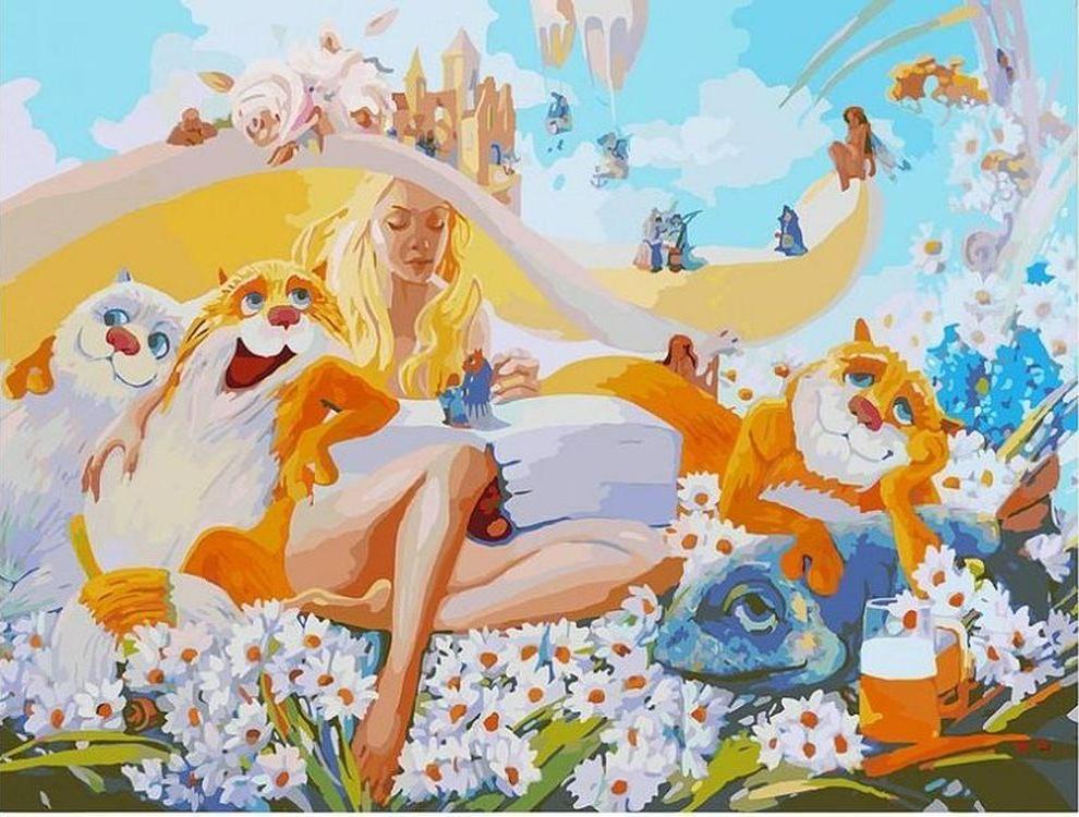Картина по номерам «Блондинка» Антона ГорцевичаКартины по номерам Белоснежка<br><br><br>Артикул: 2013-AМ<br>Основа: Холст<br>Сложность: очень сложные<br>Размер: 60x80 см<br>Количество цветов: 45<br>Техника рисования: Без смешивания красок