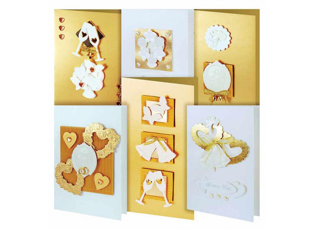 Набор из 6-ти открыток «Любовь»Наборы для создания открыток<br><br><br>Артикул: 215-SB