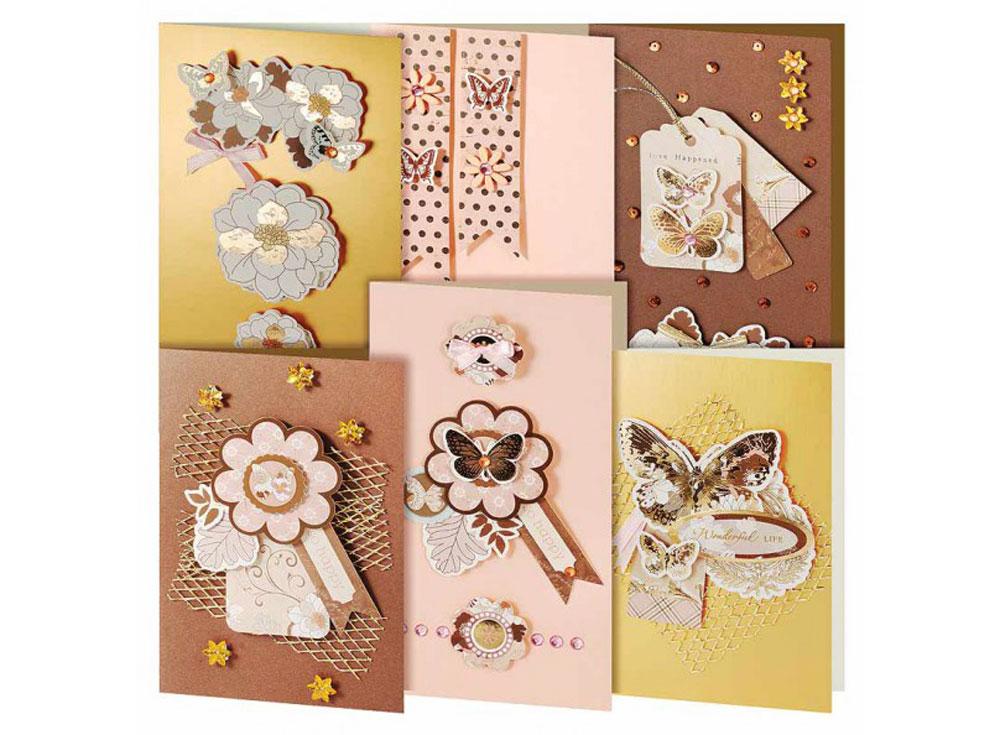 Набор из 6-ти открыток «Бабочки»Наборы для создания открыток<br><br><br>Артикул: 217-SB