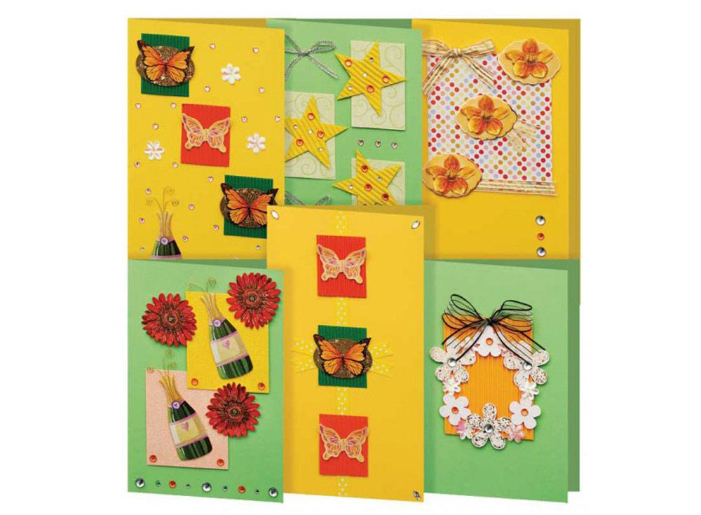 Набор из 6-ти открыток «Лето»Наборы для создания открыток<br><br><br>Артикул: 219-SB