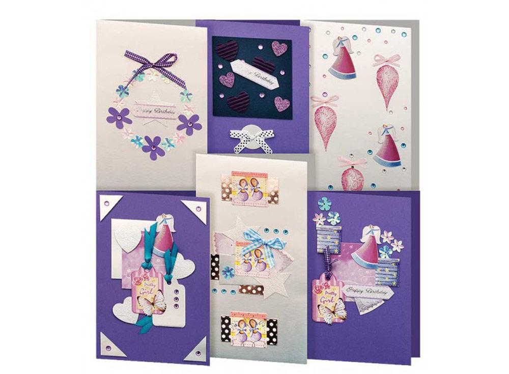 Набор из 6-ти открыток «Прованс»Наборы для создания открыток<br><br><br>Артикул: 220-SB