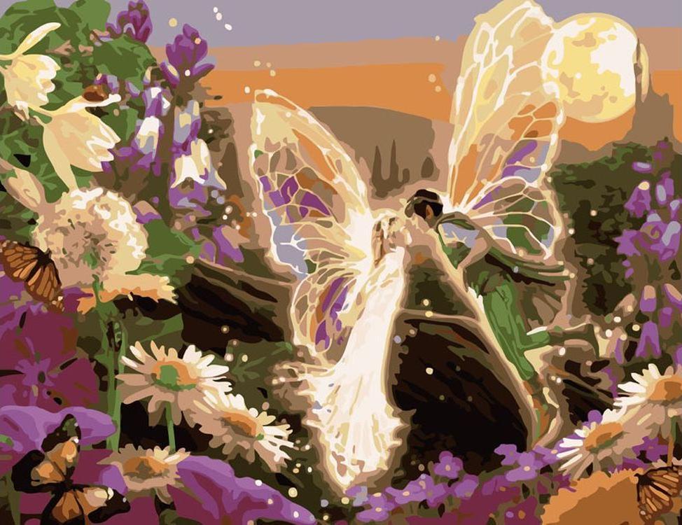 «Сказочный поцелуй»Картины по номерам Белоснежка<br><br><br>Артикул: 356-CG<br>Основа: Холст<br>Сложность: средние<br>Размер: 40x50 см<br>Количество цветов: 23<br>Техника рисования: Без смешивания красок