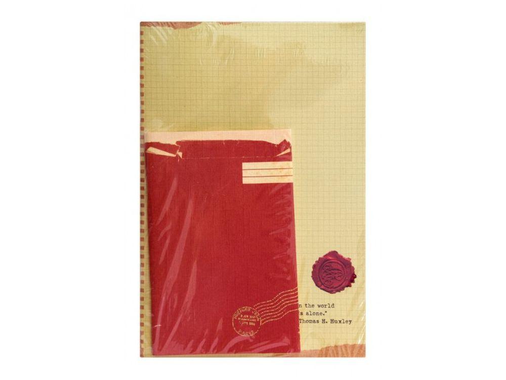Блокнот «Красный конверт»Записные книжки и ежедневники<br><br><br>Артикул: 634-SB
