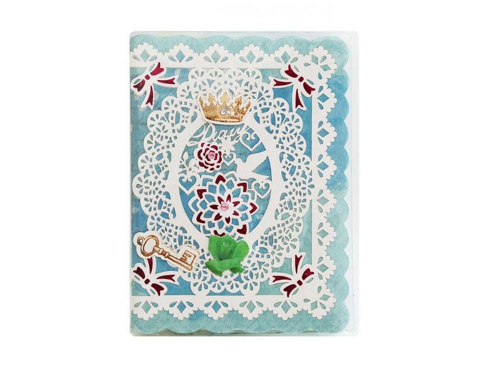 Мини-дневник «Летопись»Записные книжки и ежедневники<br>Мини-дневник для записей в стиле Шебби Шик. Обложка украшена 3D-композицией в технике скрапбукинг.  На разноцветных листочках дневника напечатаны картинки в стиле Шебби Шик<br><br>Артикул: 652-SB<br>Размер: 11,5x15,3x0,5 см<br>Упаковка: Прозрачный пакет<br>Количество страниц шт: 36