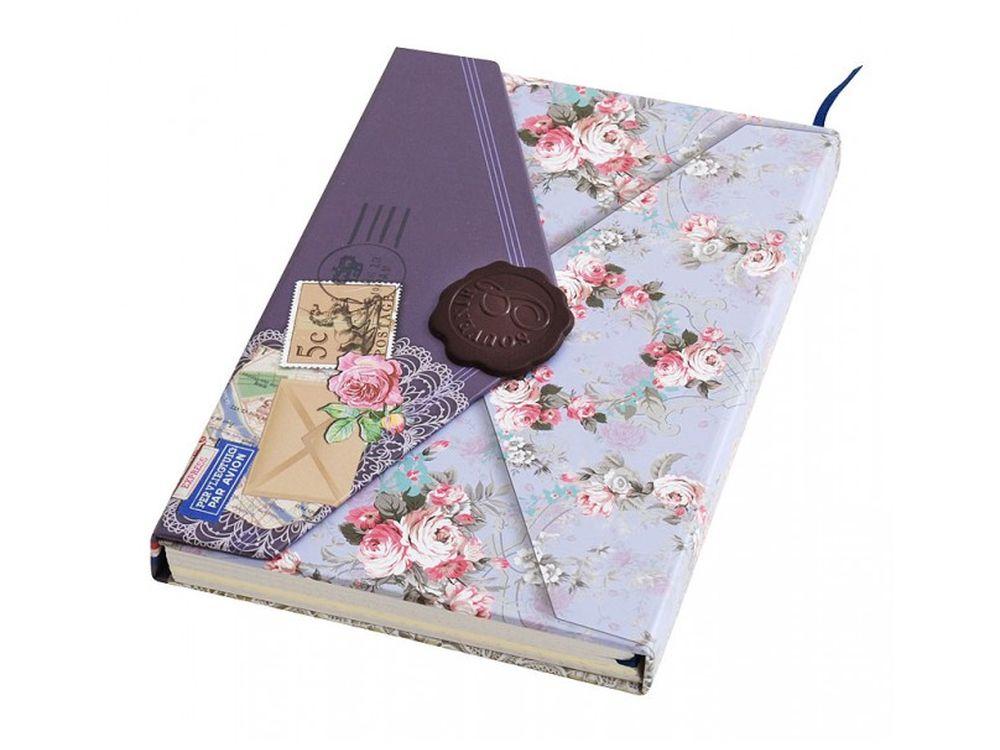 Дневник для записей «Тайны»Записные книжки и ежедневники<br>Количество листов: 96<br> Размер 10,5х15,2х1,8 см<br><br>Блокнот-дневник с однотонными листами выполнен в виде ретро-конверта. Застегивается на магнитную застежку, предусмотрена закладка для удобства владельца сразу находить необходимую страницу.<br>Плотная стиль...<br><br>Артикул: 661-SB<br>Размер: 10,5x15,2x1,8 см