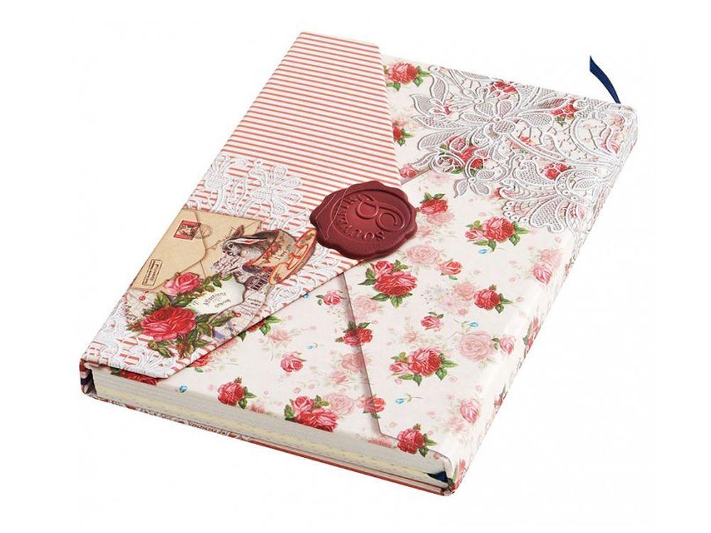 Дневник для записей «Волшебные страницы»Записные книжки и ежедневники<br>Количество листов: 96<br>Размер 10,5х15,2х1,8 см<br><br>Блокнот-дневник с однотонными листами выполнен в виде ретро-конверта. Застегивается на магнитную застежку, предусмотрена закладка для удобства владельца сразу находить необходимую страницу.<br>Плотная стильн...<br><br>Артикул: 664-SB<br>Размер: 10,5x15,2x1,8 см