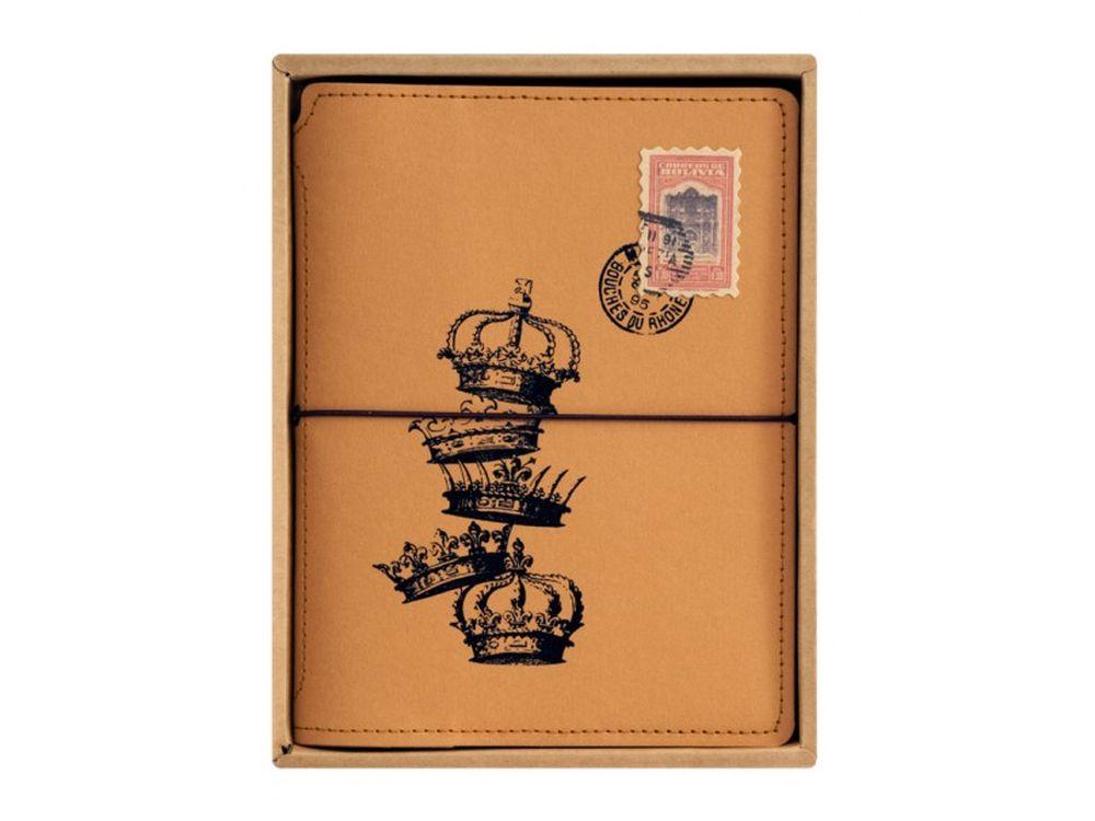 Записная книжка «Короны»Записные книжки и ежедневники<br><br><br>Артикул: 724-SB<br>Размер: 16,2x21,2x2 см