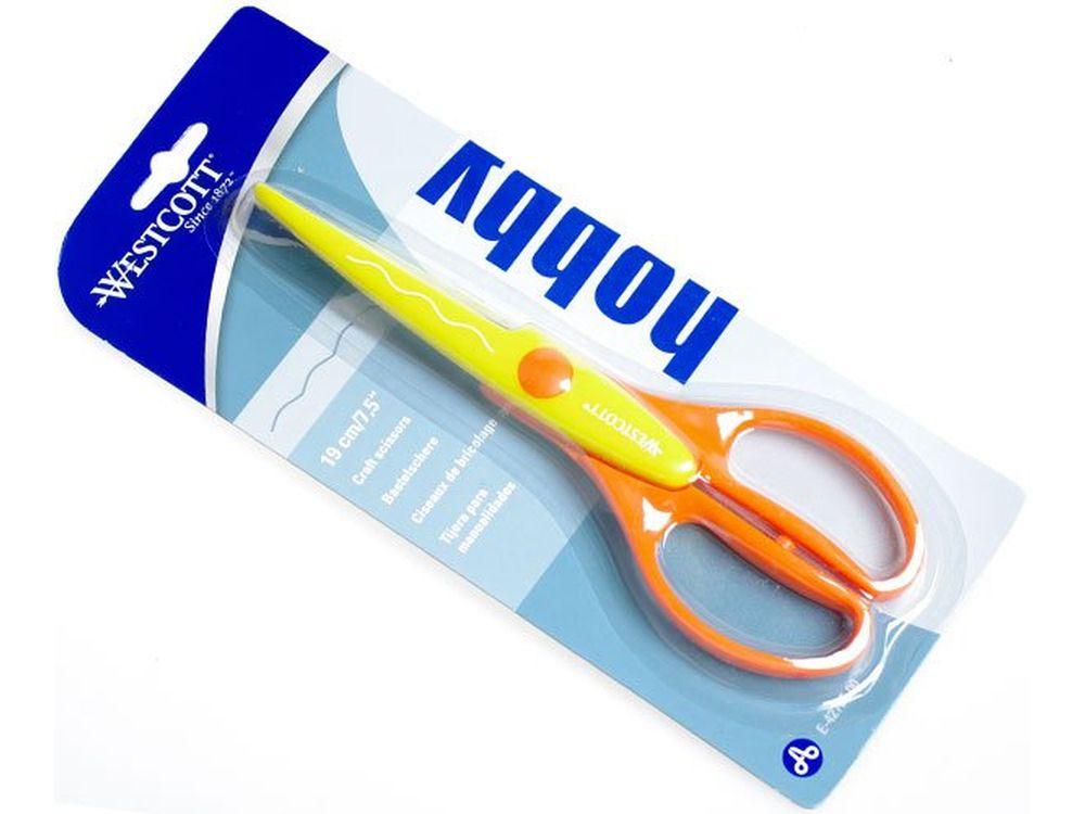 Ножницы фигурные «Волна»Инструменты для скрапбукинга<br>Ножницы с фигурным краем (волна) для оригинального оформления любых Ваших работ из бумаги - декорирования краев открыток, альбомов, конвертов. Острая режущая кромка отлично справляется и с картоном, и с тонкой бумагой. То есть, с помощью этих ножниц можно...<br><br>Артикул: E-42705<br>Размер: 19 см