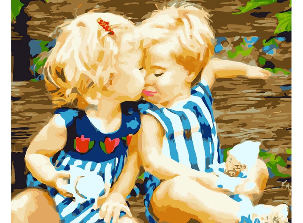 Картина с детьми