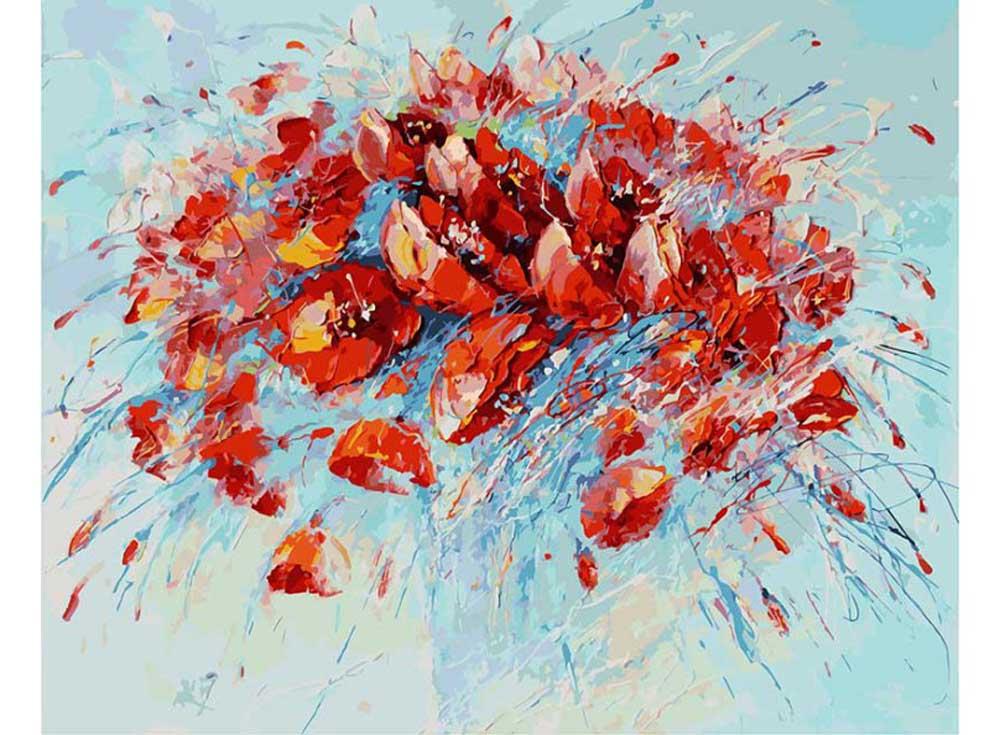 «Салют» Лианы МоисеевойКартины по номерам Белоснежка<br><br><br>Артикул: 031-АВ<br>Основа: Холст<br>Сложность: очень сложные<br>Размер: 40x50<br>Количество цветов: 32<br>Техника рисования: Без смешивания красок