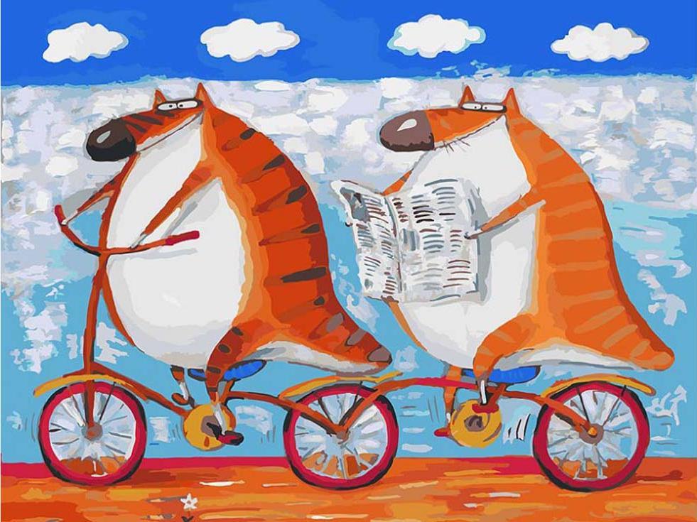 «Вояж» Романа УрбинскогоКартины по номерам Белоснежка<br><br><br>Артикул: 054-AS<br>Основа: Холст<br>Сложность: очень сложные<br>Размер: 30x40 см<br>Количество цветов: 30<br>Техника рисования: Без смешивания красок