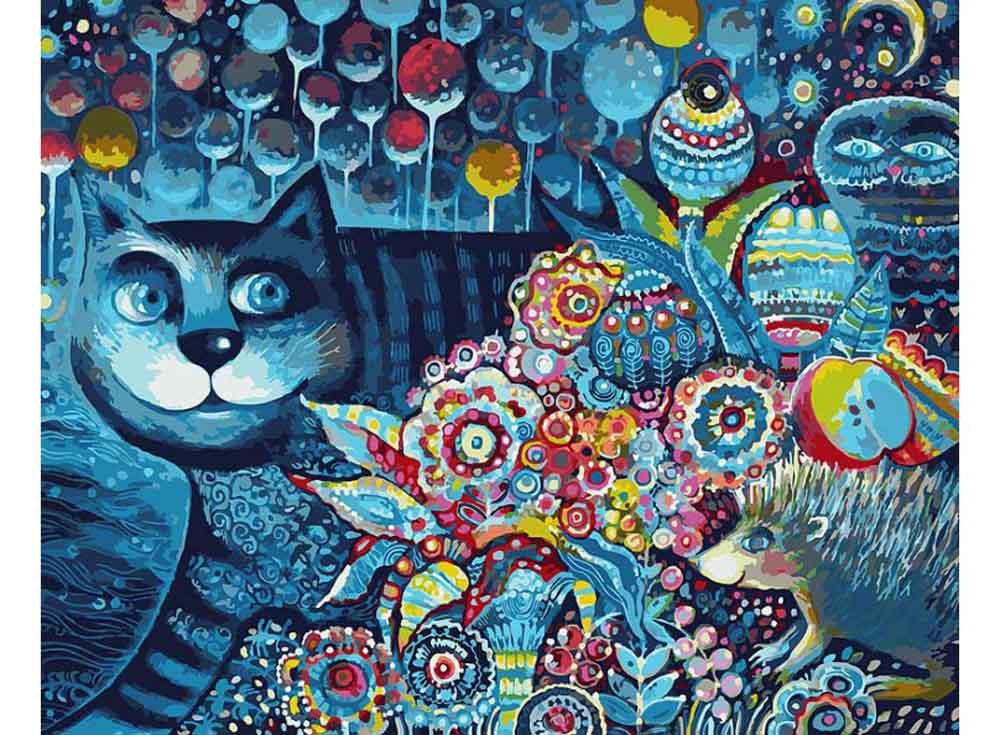 «Индиго кот»Картины по номерам Белоснежка<br><br><br>Артикул: 083-AB<br>Основа: Холст<br>Сложность: очень сложные<br>Размер: 40x50<br>Количество цветов: 30<br>Техника рисования: Без смешивания красок