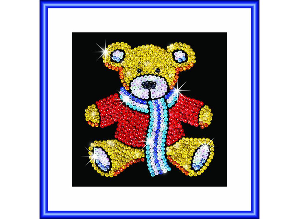 KSG Мозаика из пайеток «Медвежонок» 1117