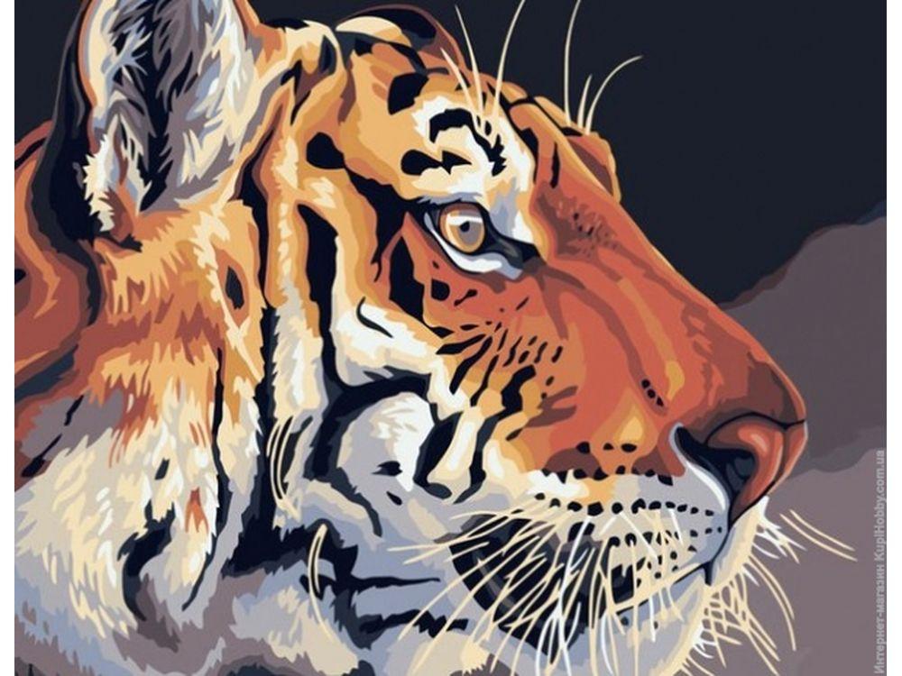 Картина по номерам «Королевский тигр»Раскраски по номерам Dimensions<br>Картина по номерам раскрашивается с применением техники смешивания красок.<br> <br> Dimensions - один из самых известных брендов товаров для хобби. Картины по номерам от этого производителя безупречны по качеству всех составляющих - от картонной основы до герме...<br><br>Артикул: 91323<br>Основа: Картон<br>Сложность: очень сложные<br>Размер: 28x36 см<br>Количество цветов: 12<br>Техника рисования: Со смешиванием красок