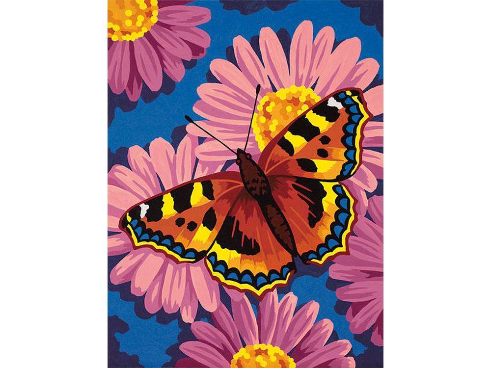 Картина по номерам «Цветы и бабочки»Раскраски по номерам Dimensions<br>Картина по номерам раскрашивается с применением техники смешивания красок.<br> <br> Dimensions - один из самых известных брендов товаров для хобби. Картины по номерам от этого производителя безупречны по качеству всех составляющих - от картонной основы до герме...<br><br>Артикул: 91341<br>Основа: Картон<br>Сложность: легкие<br>Размер: 23x30 см<br>Количество цветов: 8<br>Техника рисования: Со смешиванием красок