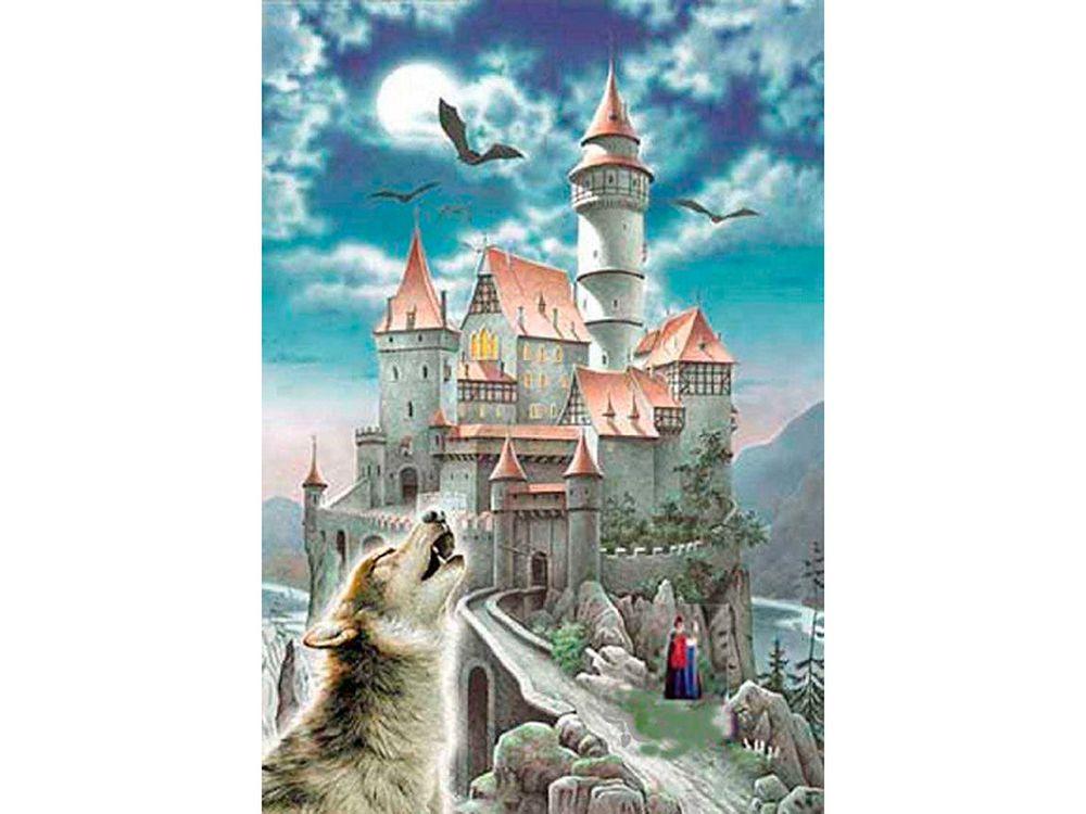 Пазлы «Замок и волк»Пазлы от производителя Castorland<br>Пазл - игра-головоломка, мозаика, состоящая из множества фрагментов, различающихся по форме.<br> По мнению психологов, игра в пазлы способствует развитию логического мышления, внимания, воображения и памяти. Пазлы хороши для всех возрастов - и ребенка-дошко...<br><br>Артикул: C100699<br>Размер: 68x47 см