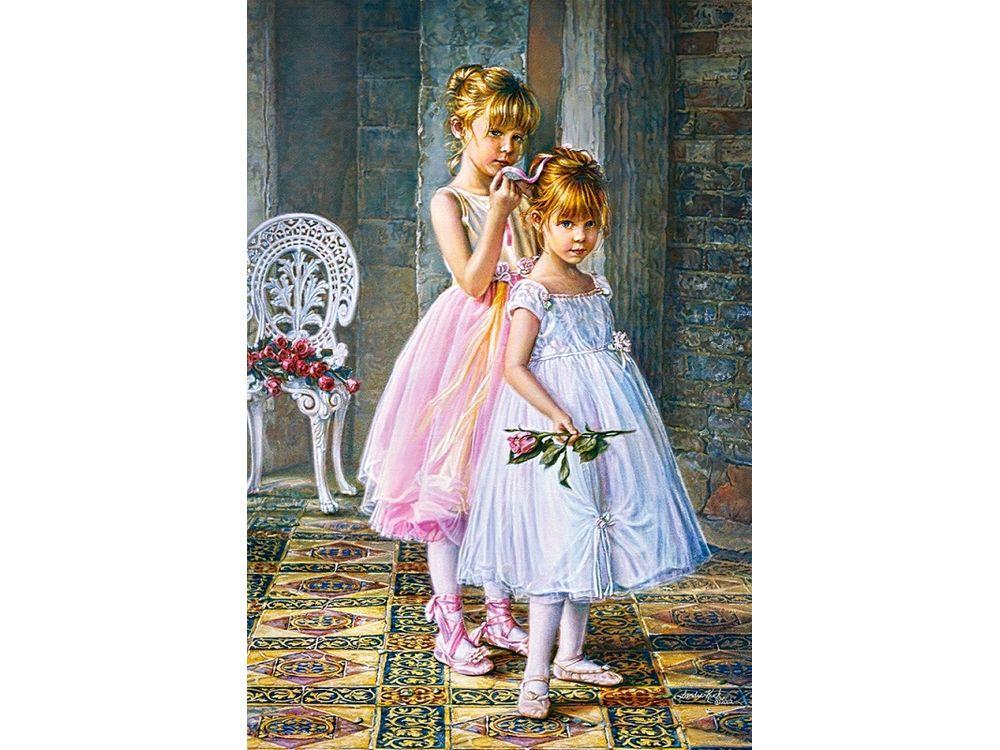 Пазлы «Юные балерины» Сандры КукПазлы от производителя Castorland<br>Пазл - игра-головоломка, мозаика, состоящая из множества фрагментов, различающихся по форме.<br> По мнению психологов, игра в пазлы способствует развитию логического мышления, внимания, воображения и памяти. Пазлы хороши для всех возрастов - и ребенка-дошко...<br><br>Артикул: C103218<br>Размер: 68x47 см
