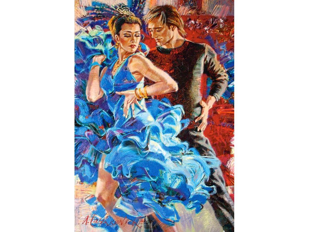 Пазлы «Танец в бирюзовых тонах» Алексея ЛашкевичаПазлы от производителя Castorland<br>Пазл - игра-головоломка, мозаика, состоящая из множества фрагментов, различающихся по форме.<br> По мнению психологов, игра в пазлы способствует развитию логического мышления, внимания, воображения и памяти. Пазлы хороши для всех возрастов - и ребенка-дошко...<br><br>Артикул: C103287<br>Размер: 68x47 см