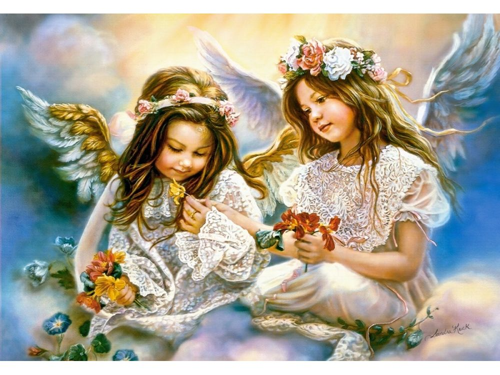Пазлы «Подарок от ангела» Сандры КукПазлы от производителя Castorland<br>Пазл - игра-головоломка, мозаика, состоящая из множества фрагментов, различающихся по форме.<br> По мнению психологов, игра в пазлы способствует развитию логического мышления, внимания, воображения и памяти. Пазлы хороши для всех возрастов - и ребенка-дошко...<br><br>Артикул: C151394<br>Размер: 68x47 см