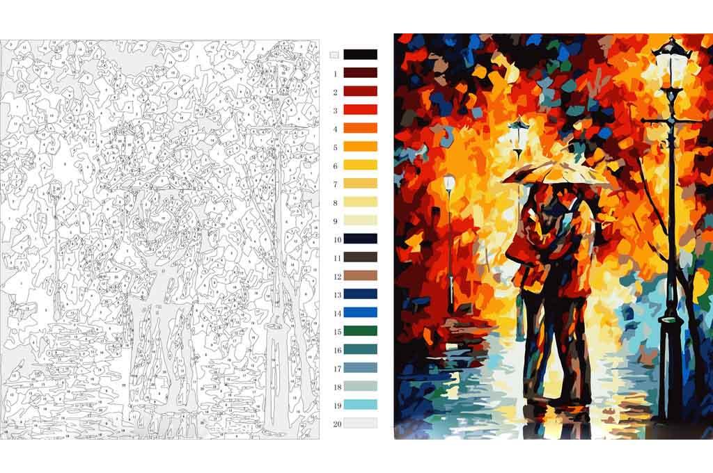 Недорогие картины раскраски по номерам