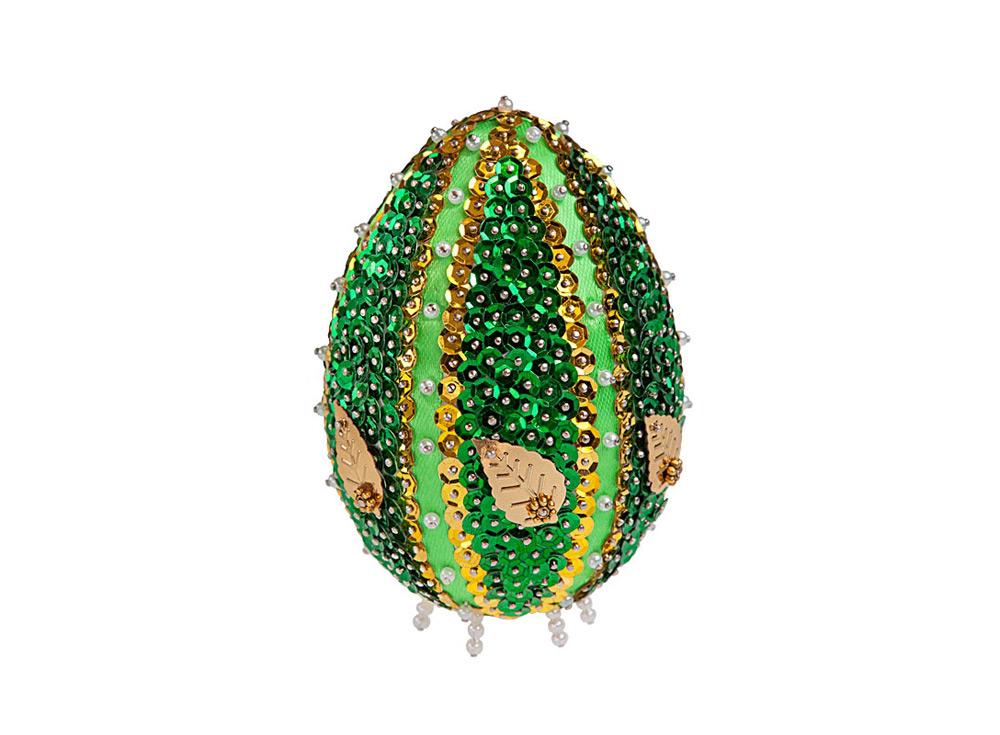 Объемная фигурка из пайеток «Декоративное яйцо»Объемные фигурки из пайеток<br>Набор мозаики из пайеток содержит все, что нужно для творческого процесса:<br> - основу - яйцо из пенопласта 10х7;<br> - разноцветные пайетки, бисер, бусины, украшения-цветочки;<br> - атласную ленту;<br> - специальные гвоздики-булавочки;<br> - инструкцию.<br> Создани...<br><br>Артикул: ЯЦМ-02<br>Основа: Фигурка из пенопласта<br>Возраст: от 8 лет
