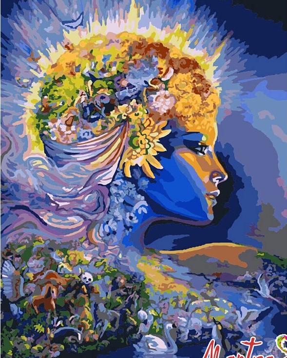 Купить Картина по номерам «Земля» + в наборе подарок, Mantra Art, Россия
