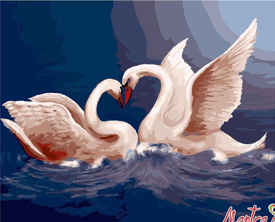 Купить Картина по номерам «Верность» + в наборе подарок, Mantra Art, Россия