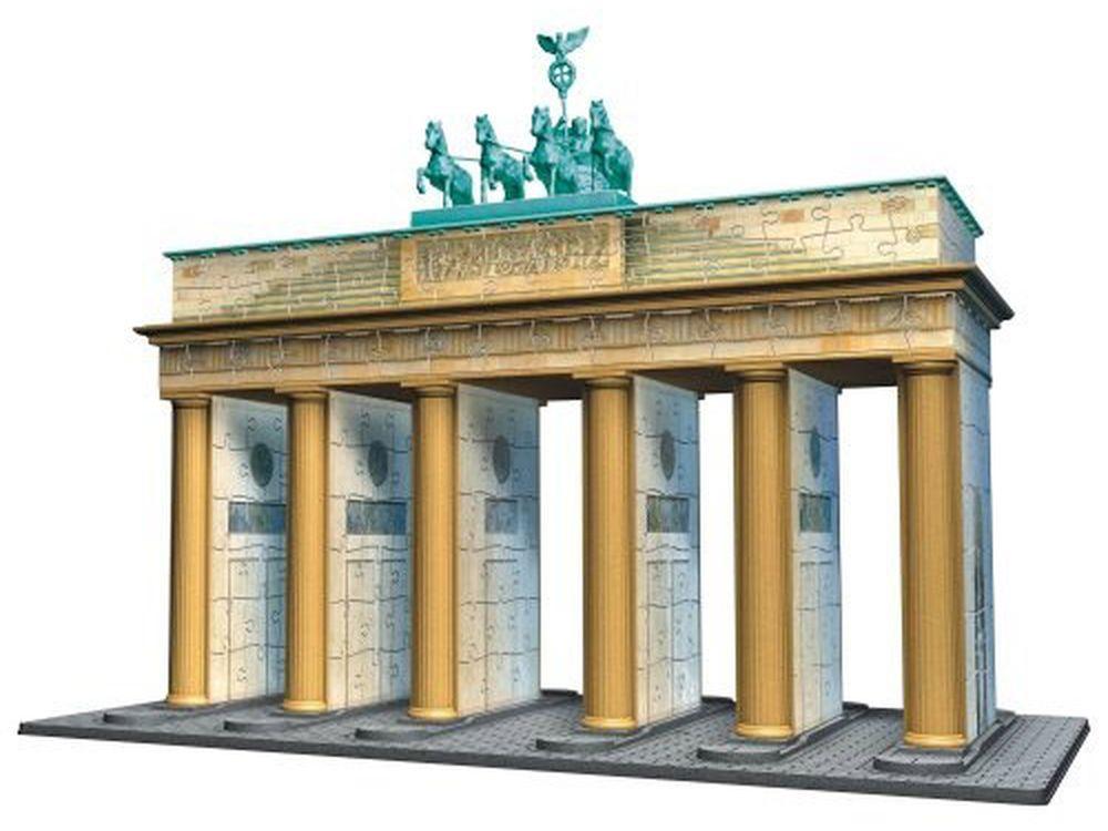 Пазлы «Брандербургские ворота 3D»Ravensburger<br>Пазл - игра-головоломка, мозаика, состоящая из множества фрагментов, различающихся по форме.<br> По мнению психологов, игра в пазлы способствует развитию логического мышления, внимания, воображения и памяти. Пазлы хороши для всех возрастов - и ребенка-дошко...<br><br>Артикул: 12551