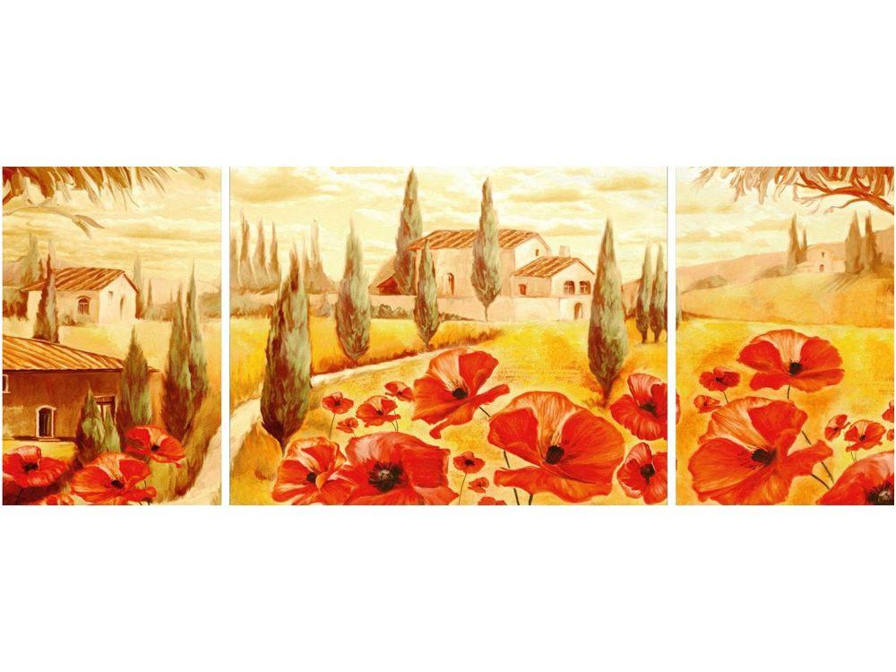Пазлы «Маки Тосканы»Ravensburger<br>Пазл - игра-головоломка, мозаика, состоящая из множества фрагментов, различающихся по форме.<br> По мнению психологов, игра в пазлы способствует развитию логического мышления, внимания, воображения и памяти. Пазлы хороши для всех возрастов - и ребенка-дошко...<br><br>Артикул: 19994<br>Размер: 98x38 см