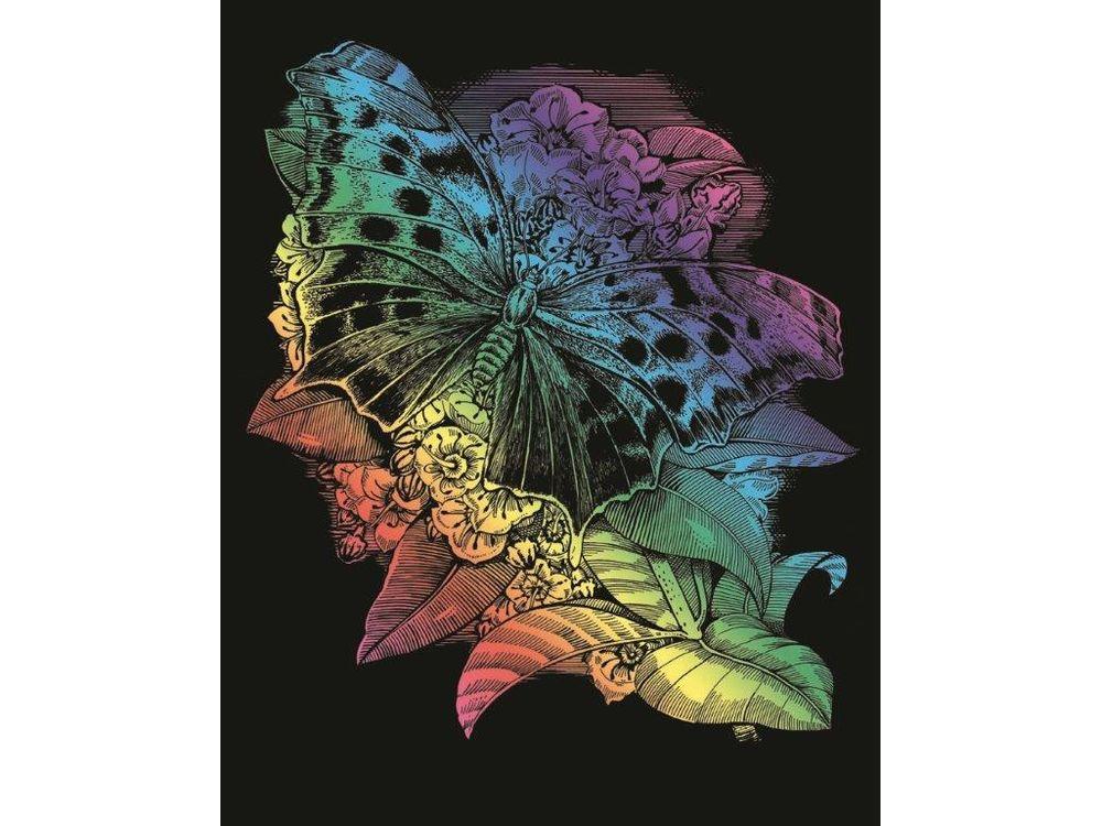 Гравюра «Бабочка»