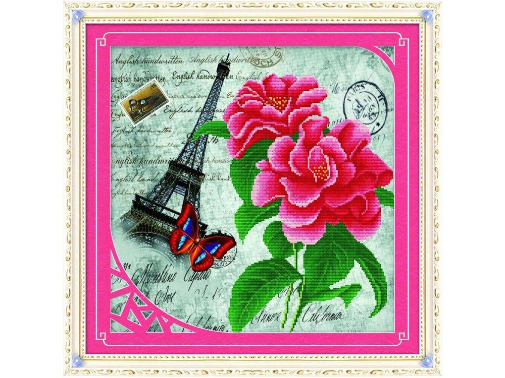 Алмазная вышивка «Эйфелева башня»Алмазная вышивка Color Kit (Колор Кит)<br><br>