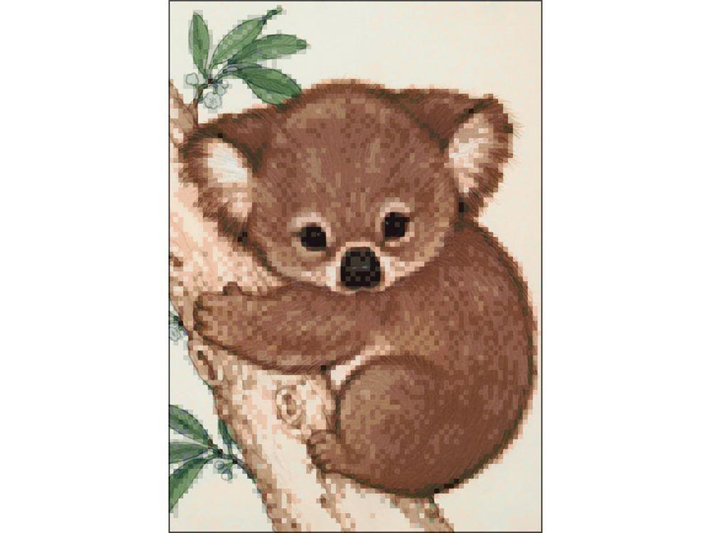 Алмазная вышивка коала 190