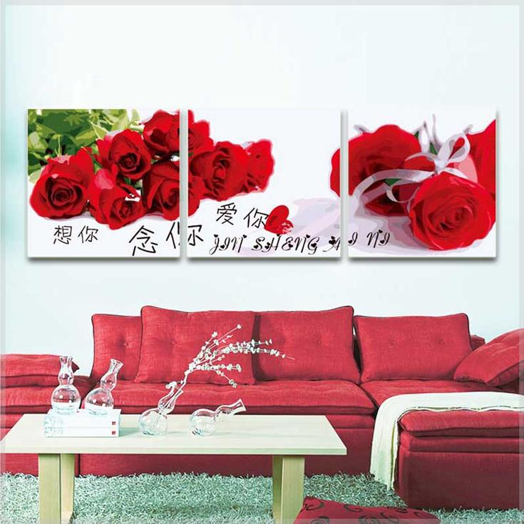 Картина по номерам «Розы на белом»Цветной (Premium)<br><br><br>Артикул: MT3066_Z<br>Основа: Холст<br>Сложность: очень сложные<br>Размер: 3 шт. 50x50 см<br>Количество цветов: 25<br>Техника рисования: Без смешивания красок